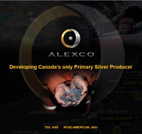 Alexco Resource Corp. Presentation Thumbnail Image