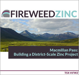 Fireweed Zinc Ltd. Presentation Thumbnail Image
